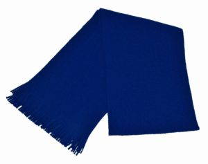 WEBSHOP Scarf Knitted Royal