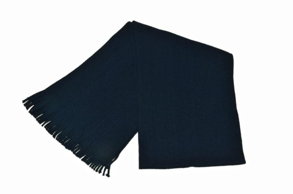 WEBSHOP Scarf Knitted Navy