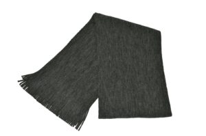 WEBSHOP Scarf Knitted Grey