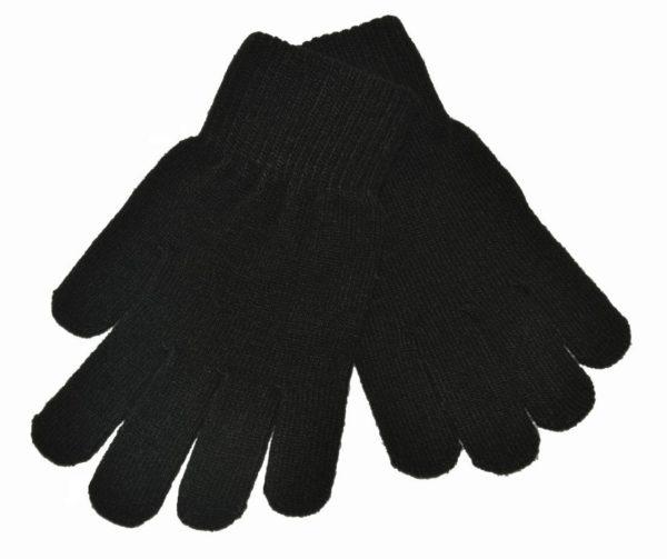 WEBSHOP Gloves Knitted Blk