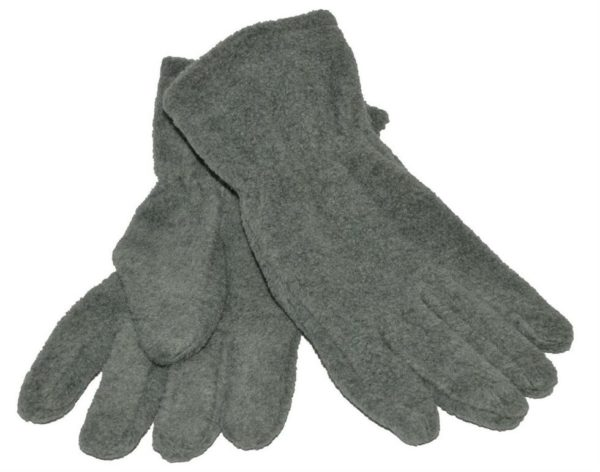 WEBSHOP Gloves Fleece Grey