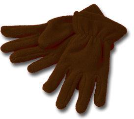 WEBSHOP Gloves Fleece Brown