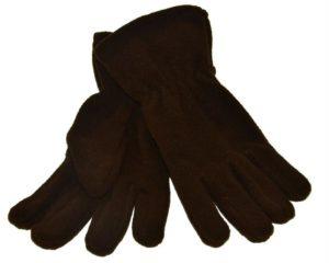 WEBSHOP Gloves Fleece Blk