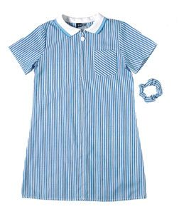 Striped School Summer Dress